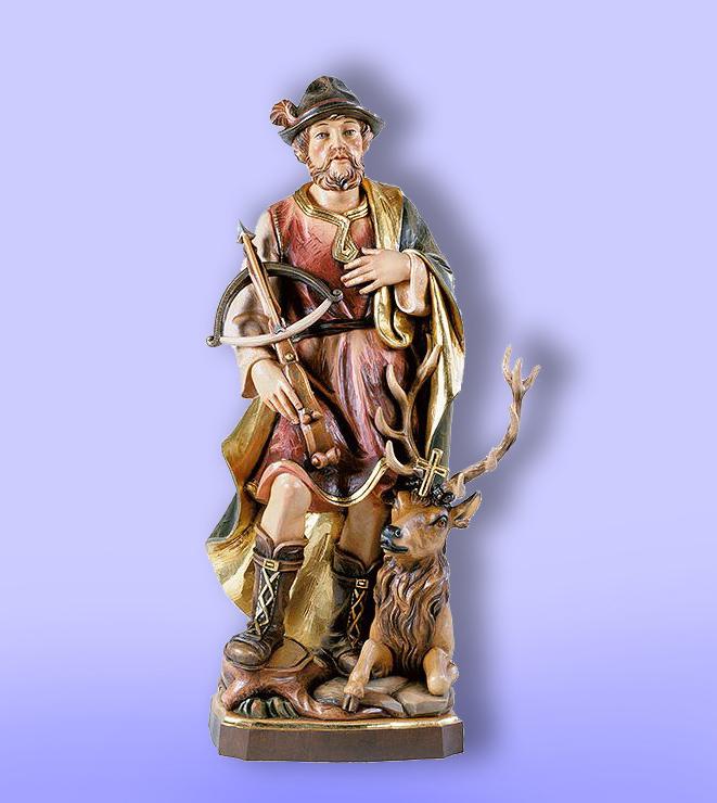 sv.Hubert - patrón polovnikov - soška