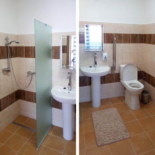 Penzión U Huberta - prispôsobená kúpeľňa a WC