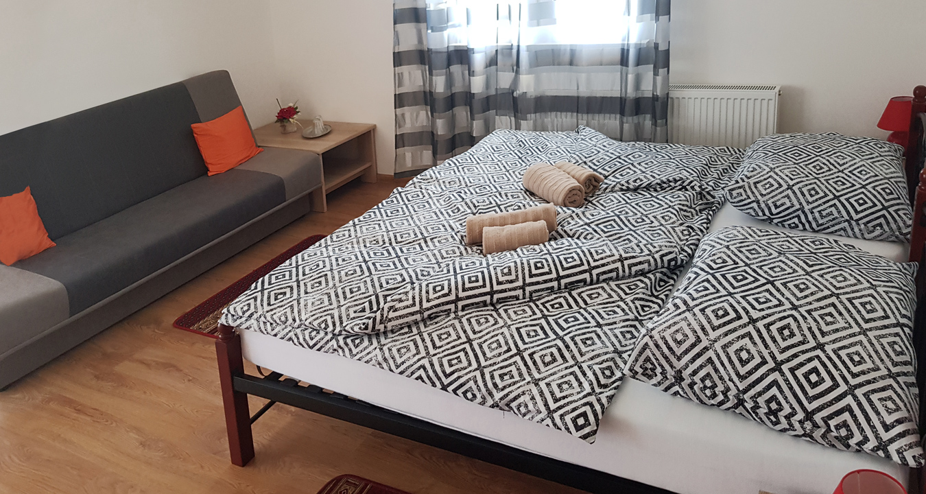 Penzión U Huberta - aj najmenšia izba je 2x väčšia než na obrázku