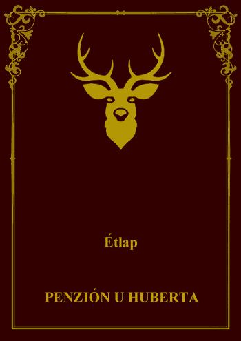 jedálny lístok - virtuálny obal maďarskej verzie