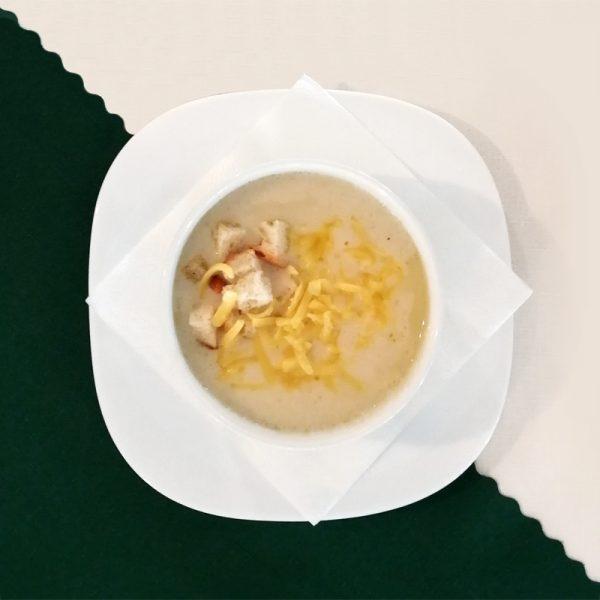 Penzión U Huberta - cesnaková polievka