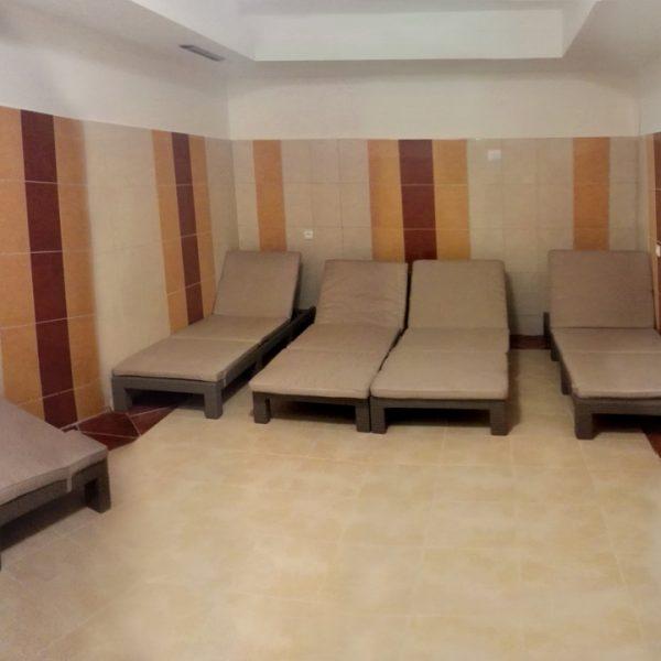 Penzión U Huberta - oddychová miestnosť k saune - panoráma