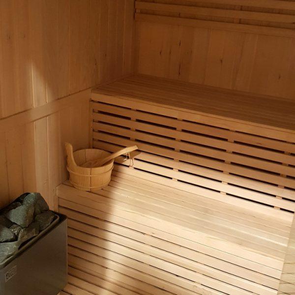 Penzión U Huberta - sauna - detail
