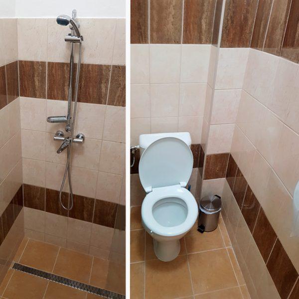 Penzión U Huberta - sprcha a WC