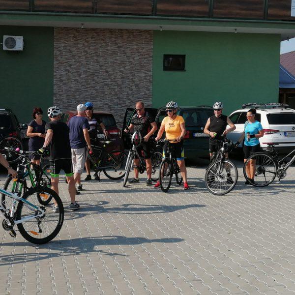 Penzion U Huberta - posledné pokyny pred cyklotúrou