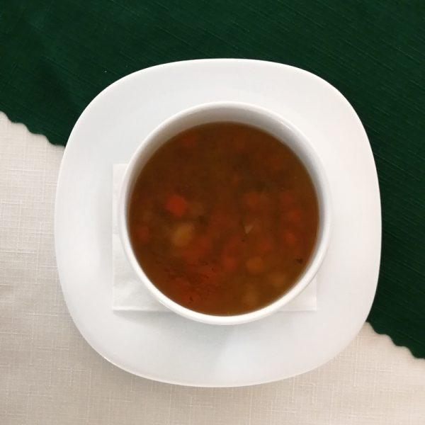 Penzion U Huberta - Mrkvovo-zeleninová polievka